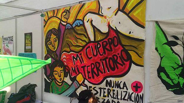Exigimos justicia para las víctimas de las esterilizaciones forzadas