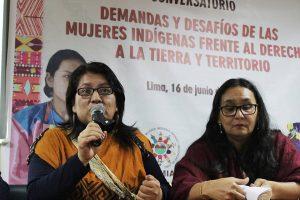 CONVERSATORIO: Derechos de las Mujeres Indígenas al Territorio