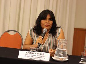 Karina Vargas, de GIZ