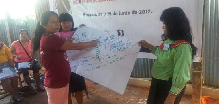 Esterilizaciones forzadas: mujeres de Ucayali unen esfuerzos para alcanzar verdad, justicia y reparación