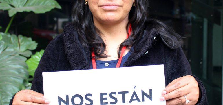 Exigimos sanciones inmediatas ante nuevos casos de violencia contra la mujer