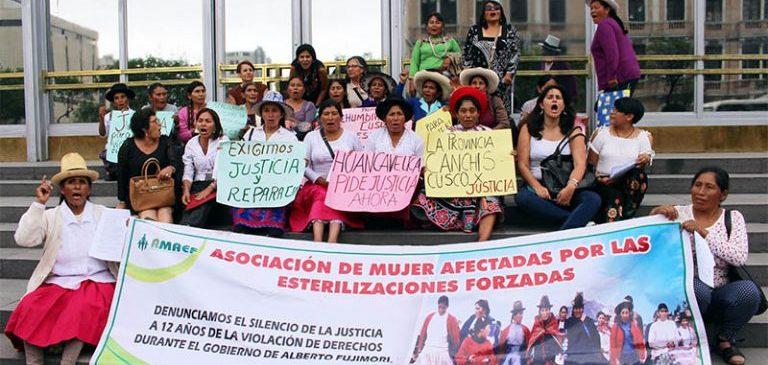 Mujeres afectadas por esterilizaciones forzadas exigen a la Fiscalía que se inicie proceso judicial