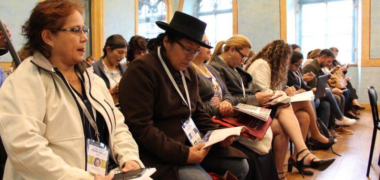 Mujeres iberoamericanas participan en Cumbre de Género