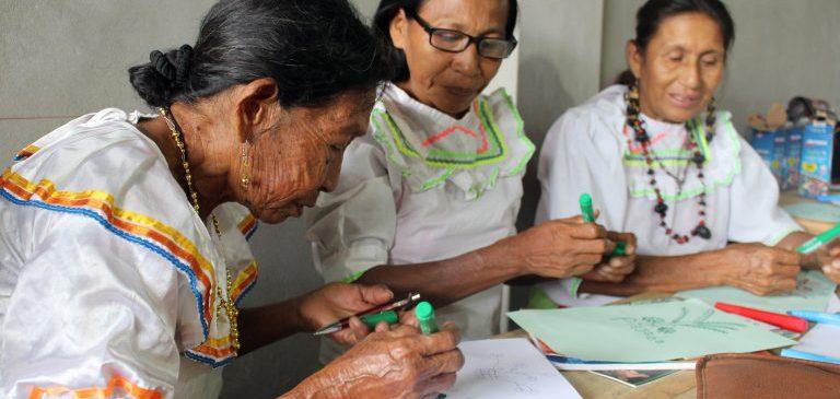 Mujeres kichwas de la cuenca del Huallaga participaron en taller de gobernanza territorial y conservación de bosques