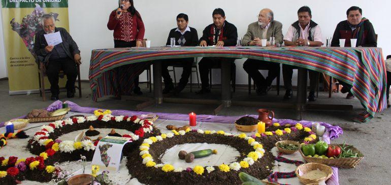 Declaración en defensa del territorio y la libre determinación de nuestros pueblos indígenas u originarios