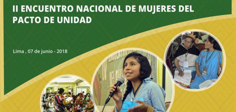 Participación política y violencia contra las mujeres serán temas centrales del II Encuentro de Mujeres del Pacto de Unidad