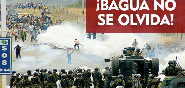 No olvidemos la Masacre de Bagua