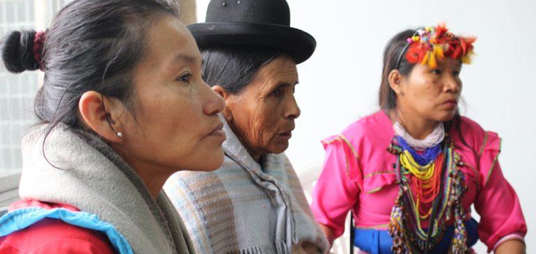 Mujeres Indígenas del Pacto de Unidad reafirmaron su protagonismo