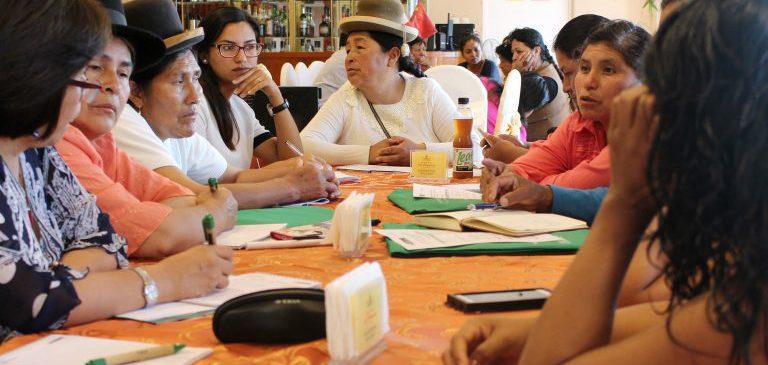 Mujeres indígenas elaboran propuestas para su inclusión en la implementación del PTRT3