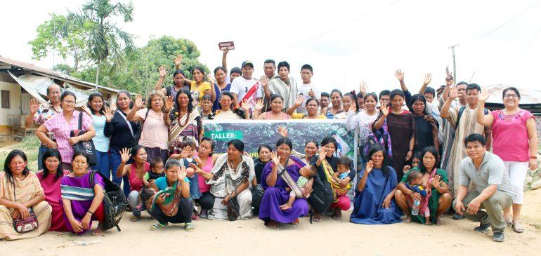 Atalaya: lideresas y líderes indígenas fortalecieron sus capacidades