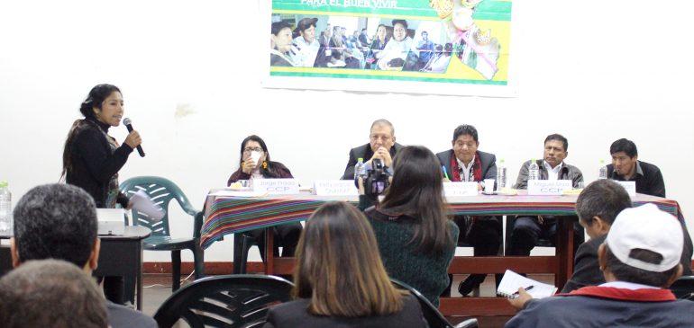 Diálogo Intercultural: Marco Arana realizó balance del trabajo de la Comisión de Pueblos