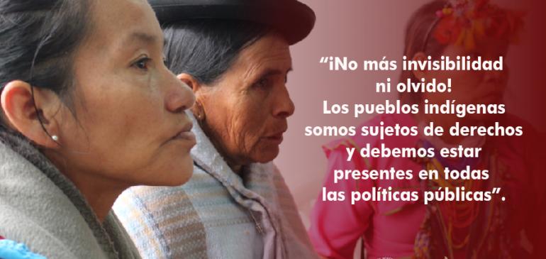 Participación de pueblos indígenas es clave para una verdadera reforma