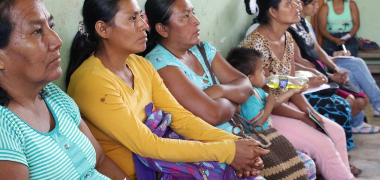 Bajo Huallaga: realizamos taller sobre derechos y defensa de los bosques