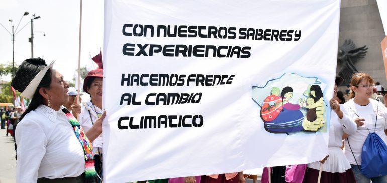 Pueblos indígenas participamos en proceso de reglamentación de la Ley Marco sobre Cambio Climático