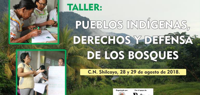 Lideresas de la Cuenca del Bajo Huallaga participarán en taller de capacitación