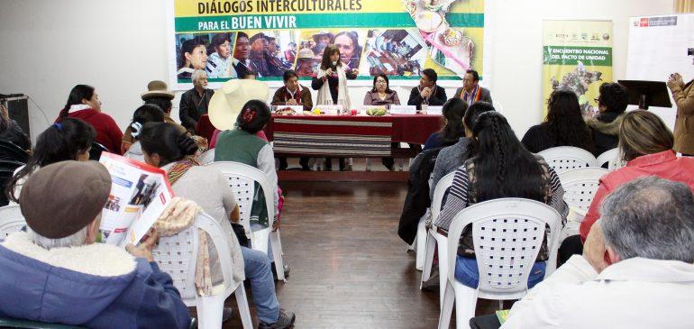 Ministra Liliana La Rosa anuncia creación de Mesa de Trabajo con pueblos indígenas en el MIDIS