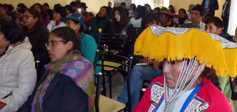 Cusco: organizaciones indígenas presentan estrategia de defensa territorial
