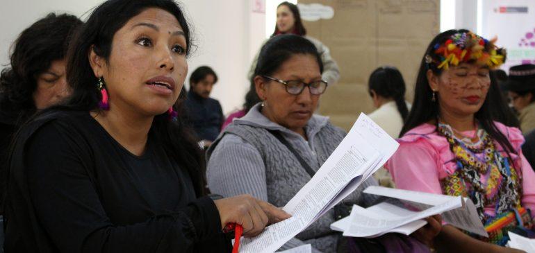 Saludamos a las mujeres indígenas elegidas en comicios regionales y municipales