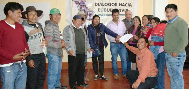 Abancay: organizaciones indígenas piden implementación de la gerencia regional de comunidades