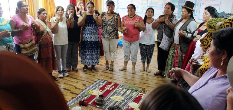 Implementaremos proyecto de promoción de derechos de las mujeres indígenas