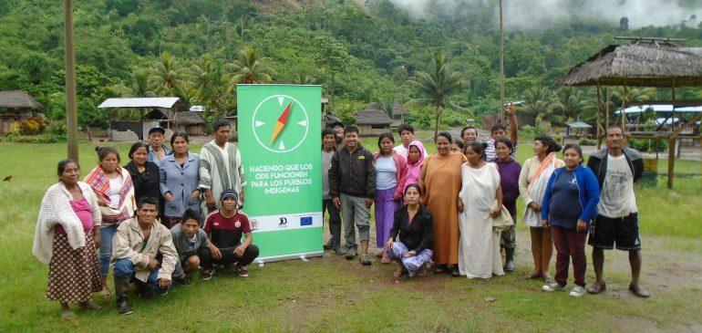 Comunidades inician la implementación de proyectos con el apoyo de ONAMIAP
