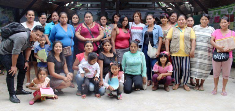 Mujeres de Madre de Dios participaron en taller preparatorio sobre la consulta previa del RLMCC