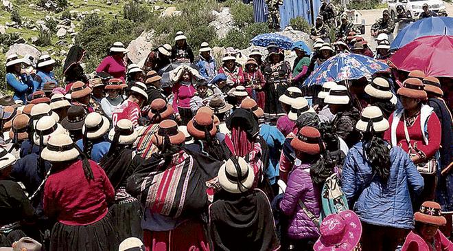 Las Bambas: nuestra solidaridad con pueblos de Apurímac y Cusco