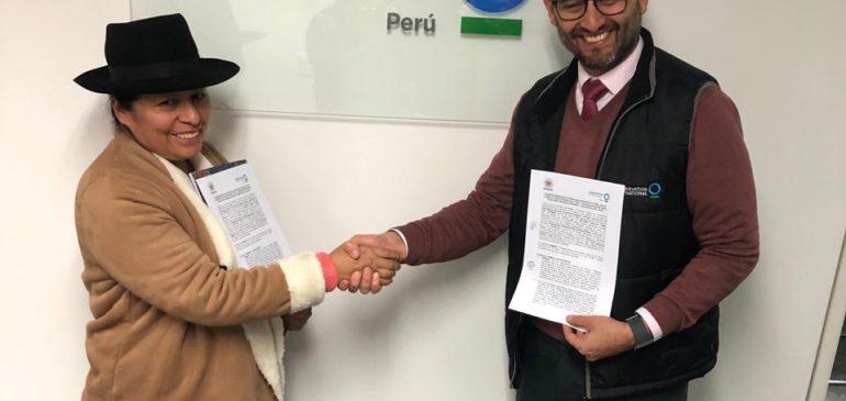 ONAMIAP y Conservación Internacional firmaron convenio de cooperación