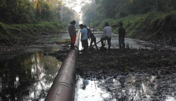 Archivo de informe sobre derrames petroleros es un atentado contra la vida