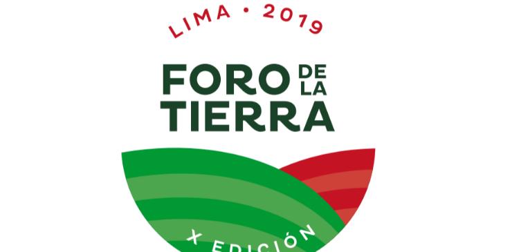 X Foro de la Tierra se realizará en Lima del 23 al 26 de setiembre