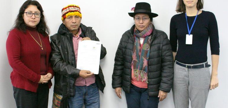 AIDESEP y ONAMIAP presentamos al Minam documento de aportes al RLMCC