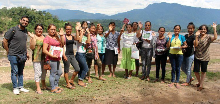 Mujeres kichwas de San Martín fortalecieron sus capacidades para la defensa de sus bosques