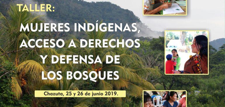 Mujeres kichwas participan en taller de derechos y defensa de los bosques