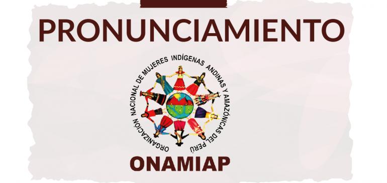ONAMIAP rechaza decisión del Ejecutivo para imponer el megaproyecto Tía María