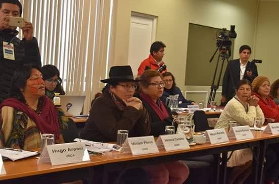 Los pueblos indígenas exigimos acciones climáticas urgentes y respeto a nuestros derechos