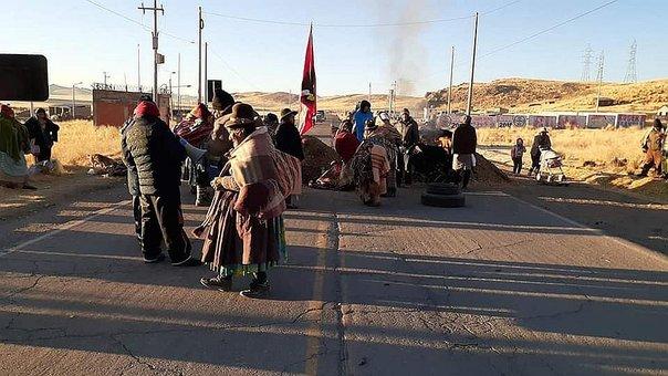 Solidaridad con la lucha de la Cuenca de Llallimayo
