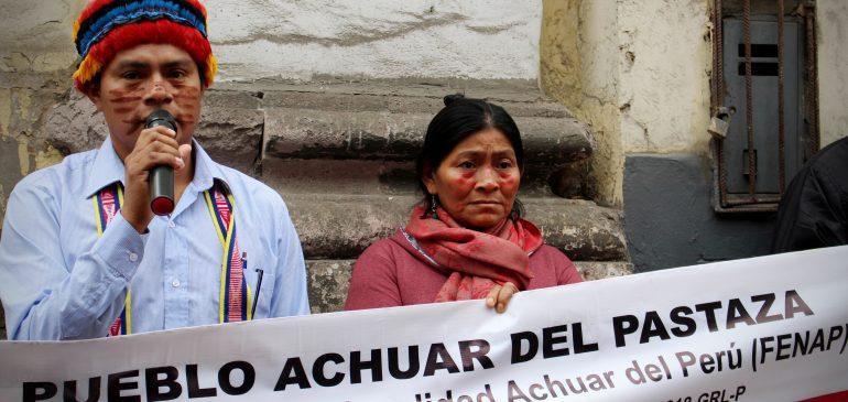 Solidaridad con el Pueblo Achuar del Pastaza