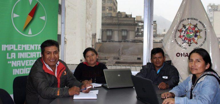 Coordinadores de proyectos sobre ODS en Junín y Puno realizan balance del primer mes
