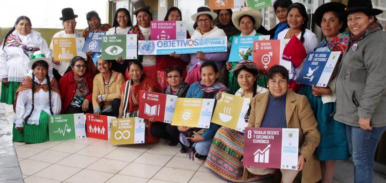 Agenda 2030: Mujeres indígenas en la lucha por un Perú donde nadie se quede atrás