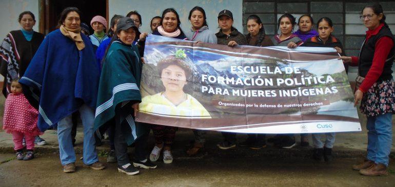 Implementamos Escuela de Formación Política para Mujeres Indígenas en Piura