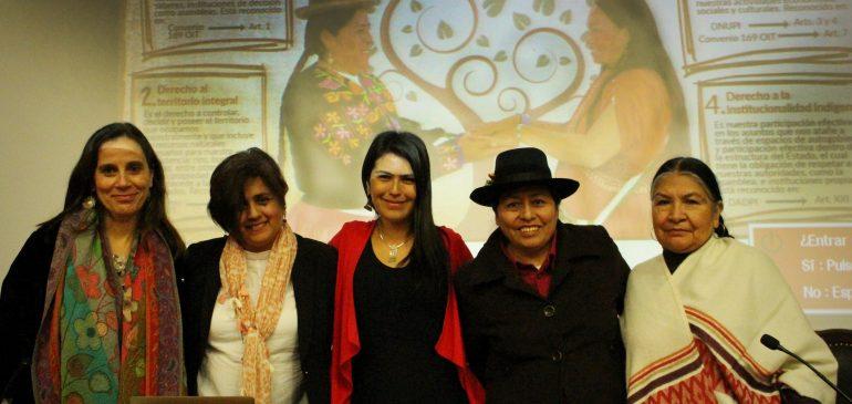 ONAMIAP organiza Seminario sobre Mujeres y Pueblos Indígenas con la CIDH