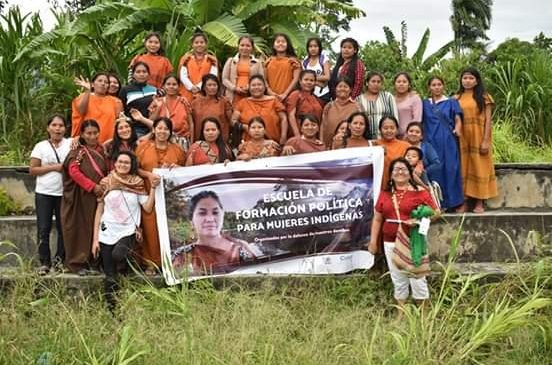 ONAMIAP implementa la Escuela de Formación Política para Mujeres Indígenas