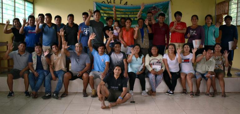 Madre de Dios: comunidades se fortalecen para la defensa del bosque