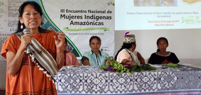 El Sínodo Panamazónico no puede cerrarse a la voz de las mujeres indígenas