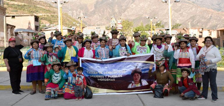 Ayacucho: ONAMIAP promueve la participación efectiva de las mujeres en sus comunidades