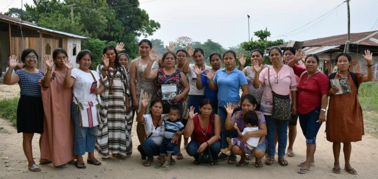 Atalaya: mujeres indígenas participaron en taller para la defensa de sus derechos y bosques