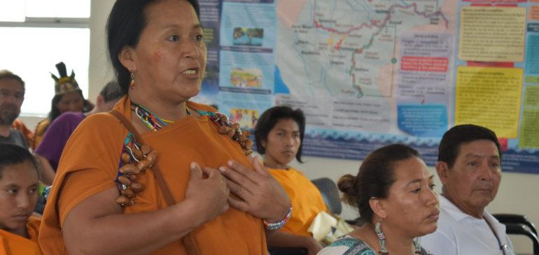 Mujeres indígenas seguiremos luchando por nuestros derechos