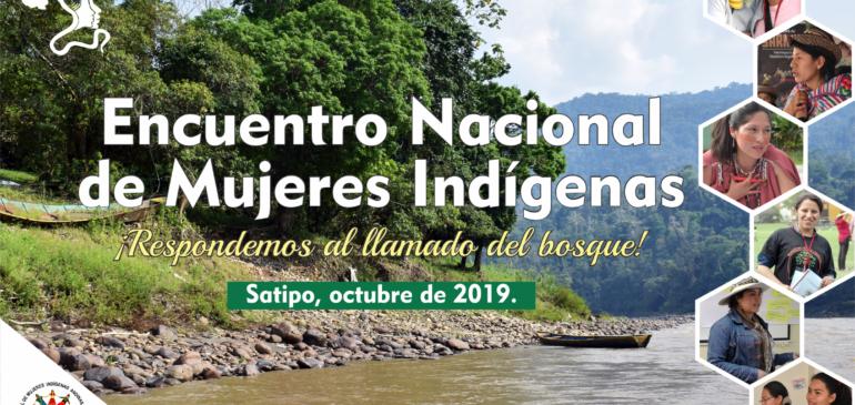 Pre Fospa: Mujeres Indígenas realizarán Encuentro Nacional en Satipo