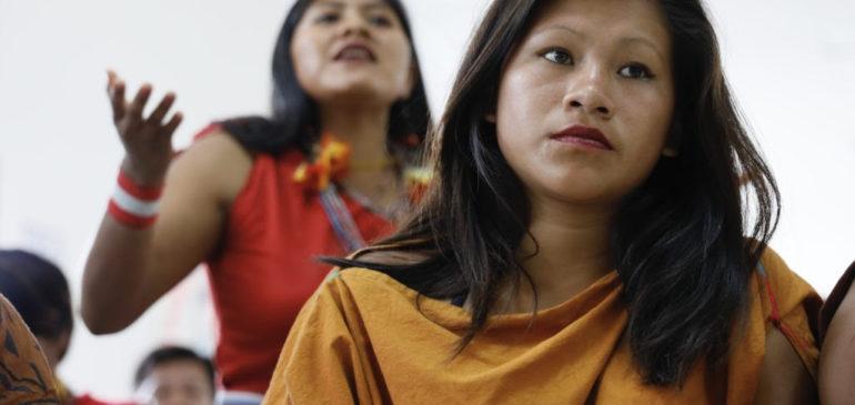Voz indígena y debate por igualdad de las mujeres fueron centrales en el II Pre Fospa Perú
