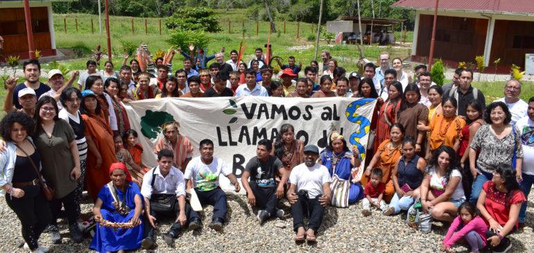 Pre Fospa: Declaración de Satipo recoge principales demandas para la defensa de la Amazonía